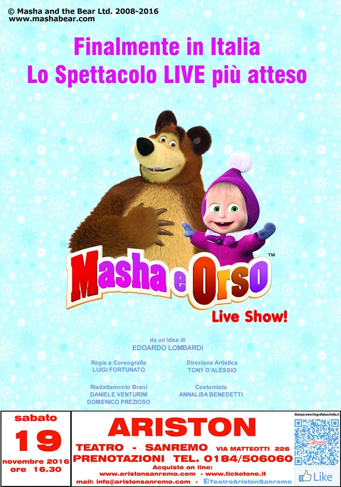 masha-e-orso-ariston