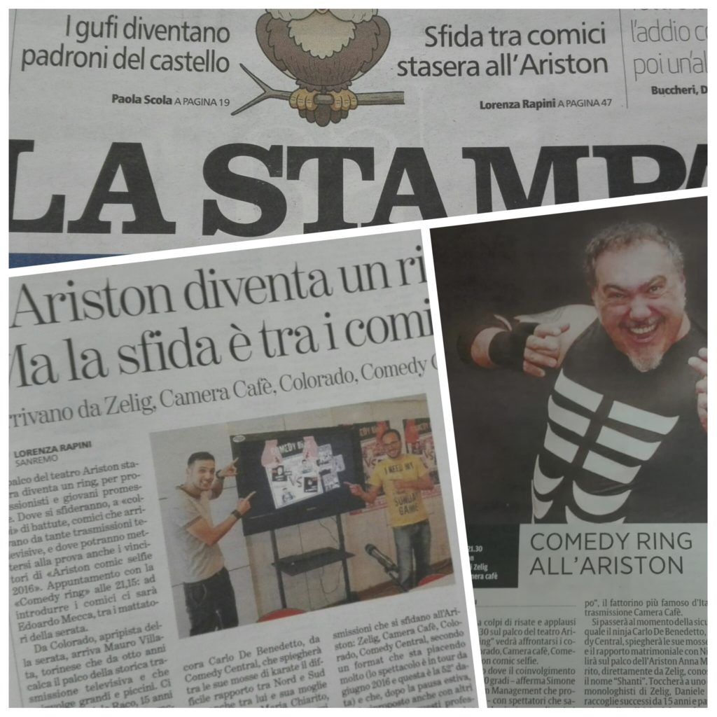 Stampa Secolo Comedy Ring