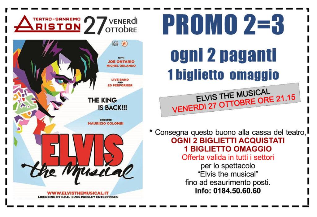 Elvis Promo Singolo
