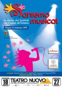 Locandina Sanremo Musical (50 x 70)
